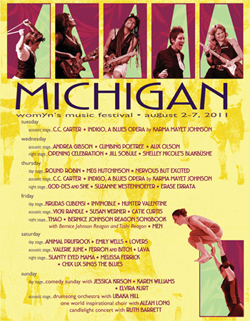 Image: Michigan Womyn's Music Festival Poster (2011)