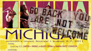 Featured Image: Michigan Womyn's Music Festival: Trans Women Not Welcome