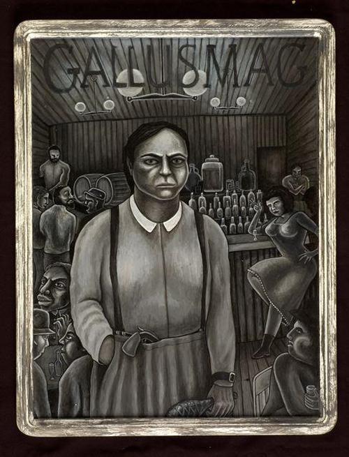 Thumbnail link to image 16 of LMV Shanko's MySpace Photos: Linda Shanko's illustration of Gallus Mag
