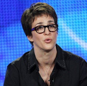 Right Wing Throwing Transphobic Hatred at Rachel Maddow?