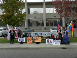 Thumbnail link: Judgment Day for the Pacific Justice Institute action, photo #2 (Photo credit: Autumn Sandeen, November 19, 2013)