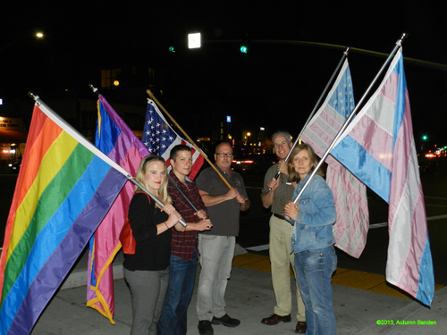 Thumbnail link: TDOR 2013 - Flags Of San Diego March