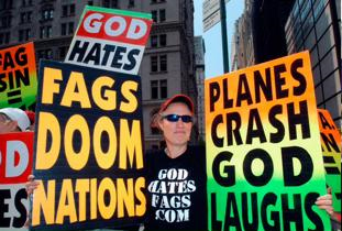 Image: Westboro Baptist Church Protest
