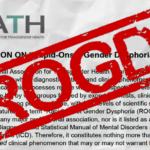 WPATH responds to Rapid Onset Gender Dysphoria (ROGD)